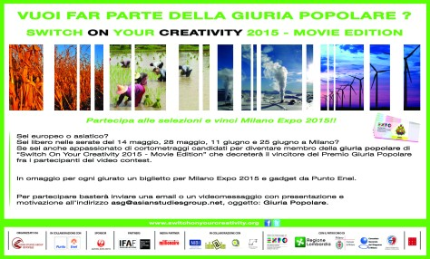 Giuria Popolare_Switch On Your Creativity_Ita