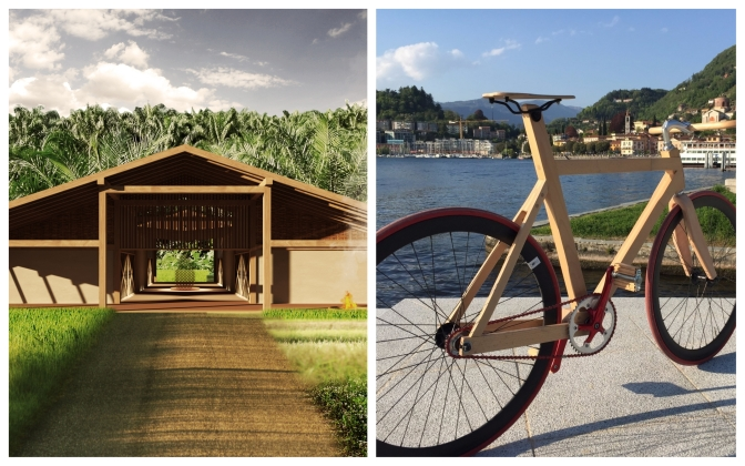 """Innovation Hub"" and ""WoodBike"": two examples of Sustainability you will see in Osaka for the YDD 2018."