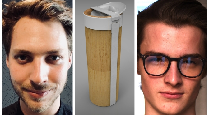 Refillable bottle made sustainable by the use of Bamboo: A green project participating to YDD 2018 edition.