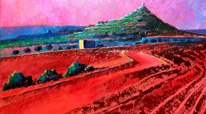 Christopher Saliba, vivid and vibrant shades as mediterranean heartbeat.